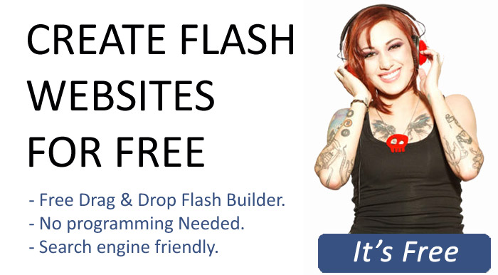 free flash websites